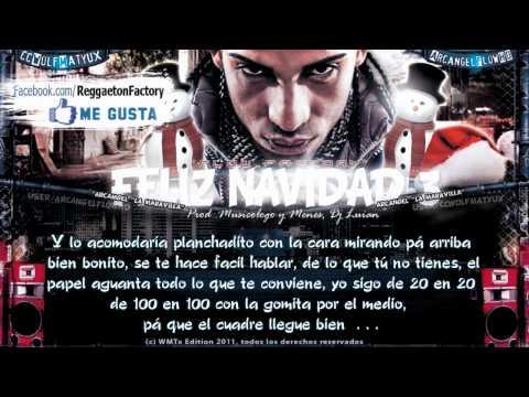 Arcangel Feliz Navidad 3 & 4 con Letra ★New Reggaeton 2011 2012★
