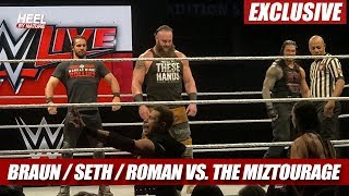 Roman Reigns, Braun Strowman, Seth Rollins vs. The Miz & The Miztourage [Highlights]