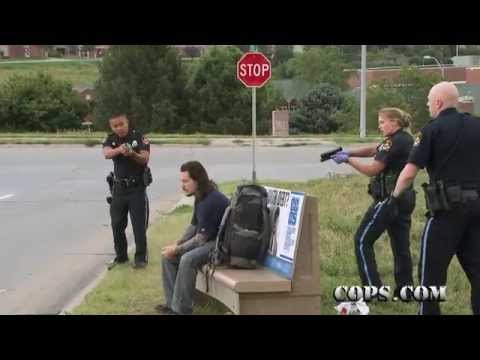 Life Taser, Officers Jackie Liebe and Anthony Nguyen, COPS TV SHOW