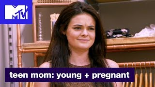 'Dress Shopping Drama' Official Sneak Peek | Teen Mom: Young + Pregnant | MTV