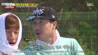 punishment if the answer is wrong to kwang soo   running man ep.298