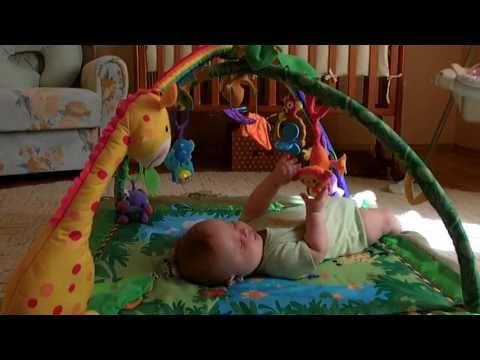 Детские развивающие коврики  смотреть видео