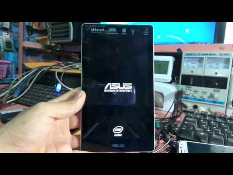 asus tablet in search of incredible hard reset