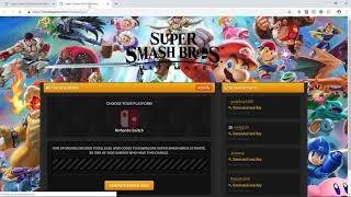 How to Get Super Smash Bros Ultimate of Nintendo Switch Free