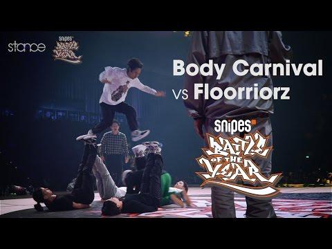 Body Carnival vs Floorriorz // .stance // Battle Of The Year 2016