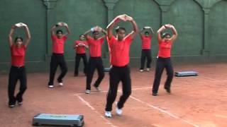 Aerobics session by Dr Vivek Bhartiya