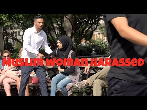 Muslim Woman Harassed in NYC ( Social Experiment )