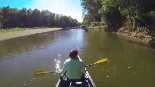 Camping and Canoeing through Turkey Run State Park