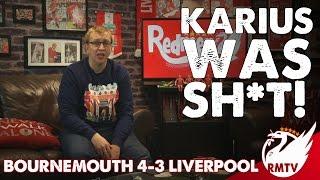 Bournemouth v Liverpool 4-3 |