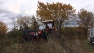 1998 Massey Ferguson 375 4WD Tractor FOR SALE Video 2