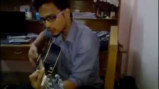 Koto Din Kete Gelo Cover By Sadi With Guitar Homemade