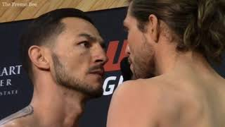 Watch Cub Swanson and Brian Ortega face-off ahead of their UFC fight in Fresno