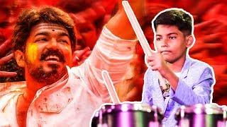 Aalaporaan Thamizhan Drums Version | Master Deepak Ramji Kalakal | RR 59
