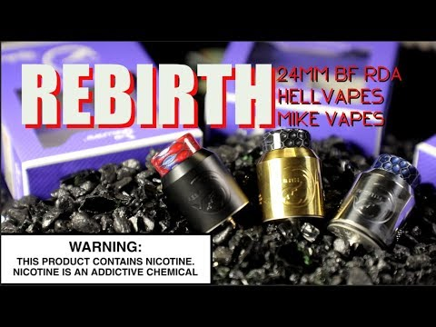 Xxx Mp4 REBIRTH 24MM BF RDA By Hellvape X Mike Vapes Squonk RDA Review 3gp Sex