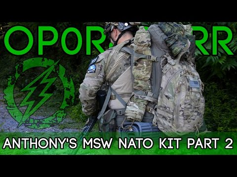 Op0r8durr - Anthony's MSW NATO Kit - Part 2