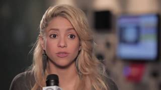 Shakira Interview on Google Music