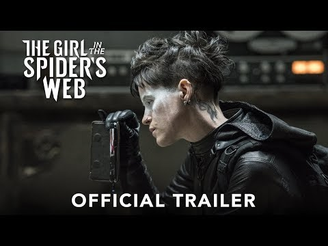 Xxx Mp4 THE GIRL IN THE SPIDER39S WEB Official Trailer HD 3gp Sex