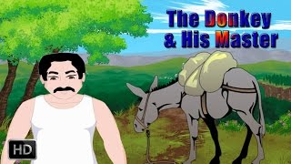 Jataka Tales - Short Stories for Children - The Donkey and His Master - Animated Cartoons/Kids
