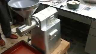 Japanese Udon Ramen Soba noodle making machine - taste just like hand-made texture