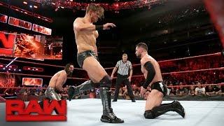 Seth Rollins vs Finn Bálor vs The Miz - Intercontinental Title #1 Contenders Match: Raw, May 1, 2017