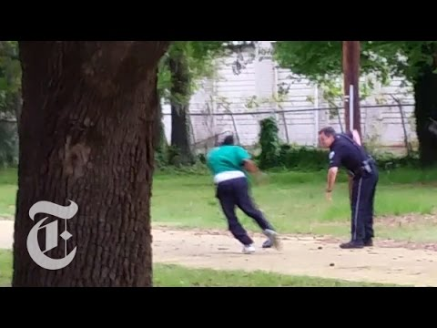 Xxx Mp4 Walter Scott Death Video Shows Fatal North Charleston Police Shooting The New York Times 3gp Sex