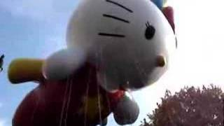 Hello Kitty Thanksgiving Day Parade Balloon