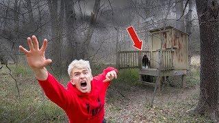 EXPLORING SECRET ABANDONED HOUSE!! (HAUNTED)