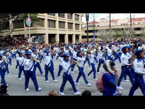 Banda El Salvador 2013 en el desfile de las Rosas en Pasadena California