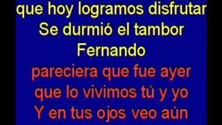 Fernando  -  Abba -  karaoke   Tony Ginzo
