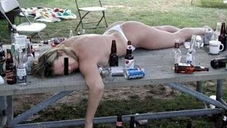 The Most Drunken And Naked Girls Very Funny
