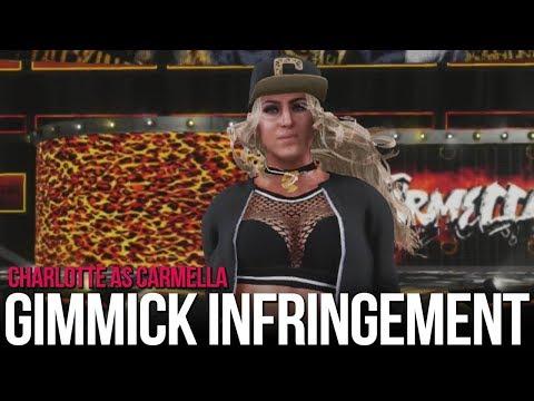 Xxx Mp4 WWE 2K18 Gimmick Infringement Charlotte As Carmella 3gp Sex