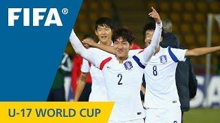 Highlights: Brazil v. Korea Republic - FIFA U17 World Cup Chile 2015