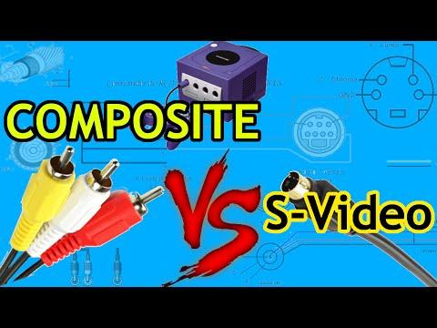 Xxx Mp4 Composite Vs S Video Image Quality Comparison W Gamecube And N64 3gp Sex