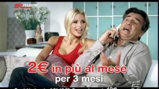 Spot Telecom voce senza limiti con Michelle Hunziker e Max Tortora