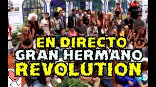 Directo GRAN HERMANO REVOLUTION GH18 GALA 1 - ARRANCAMOS - CONCURSANTES Y SUS HISTORIAS PERSONALES