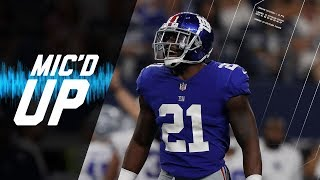 Landon Collins Mic'd Up Trying to Stop the Cowboys High-Powered Offense | NFL Films | Sound FX