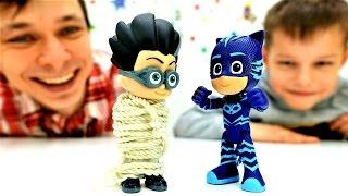У Кэтбоя суперспособности. Игрушки из мультфильмов.