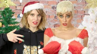 Taylor Swift vs. Katy Perry - A Christmas Special! The Key of Awesome #129