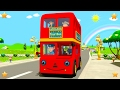 Download Video Wheels On The Bus | Kindergarten Nursery Rhymes & Songs for Kids | Little Treehouse S03E94 3GP MP4 FLV