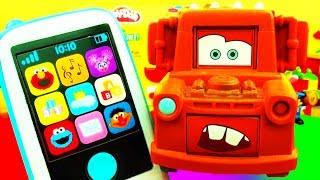 Toy Characters Phone Sesame Street Psy Spiderman Thomas Disney Cars Cookie Monster Elmo Ernie