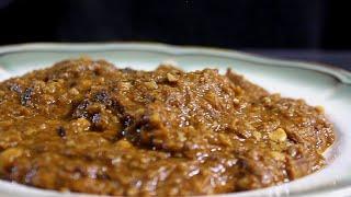 القيمه النجفية الاصلية ( مرق الحمص واللحم)   Hummus with meat stew | المطبخ العربي