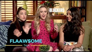 'Blockers' GIRLS Talk Losing Virginity, Nudity On Screen And Crazy Stuff You Should NEVER Try