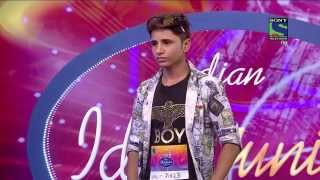 Amazing Rapper  : Indian Idol Junior 2015 Sunil Bishnoi; the Rajasthani rapper – Kolkotta Auditions