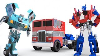 The Amazing | Transformers Robot Truck and Car Racing Toys | Surprise Egg video by Jugnu kids