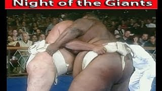SUMO Wrestling - Night of the GIANTS!