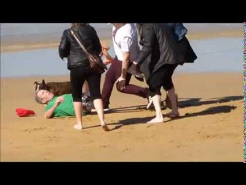 Xxx Mp4 PITBULL DOG ATTACKS LIVE HD 2014 3gp Sex