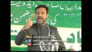 Akbaruddin owaisi firing speech on modi