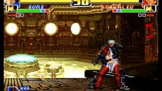 King of Fighters 99(Neo-Geo/Arcade)-Kyo/Iori Playthrough