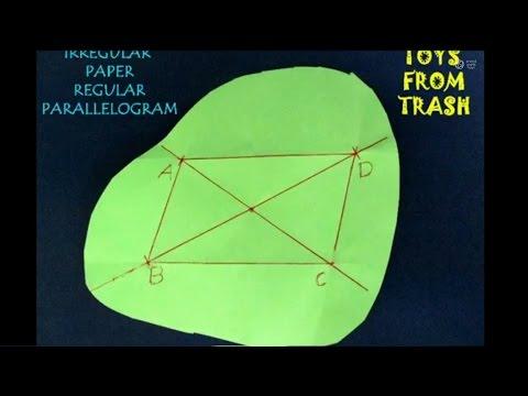 IRREGULAR PAPER REGULAR PARALLELOGRAM - HINDI - 25MB