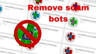 How to remove scam bots from your followers list [Roblox]